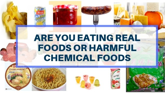 Are You Buying The Real Foods or Harmful Chemical Toxins Food?