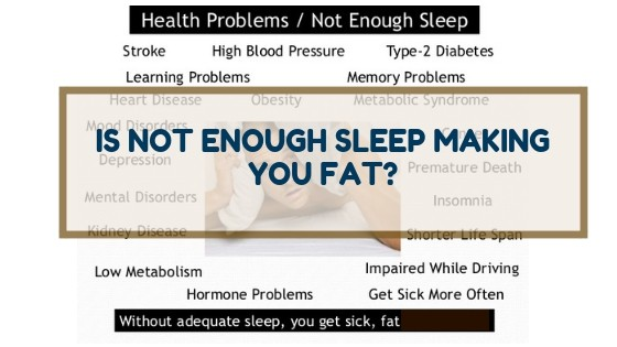 Is Not Enough Sleep Making You Fat?