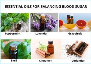 Essential oils for Balancing Blood Sugar
