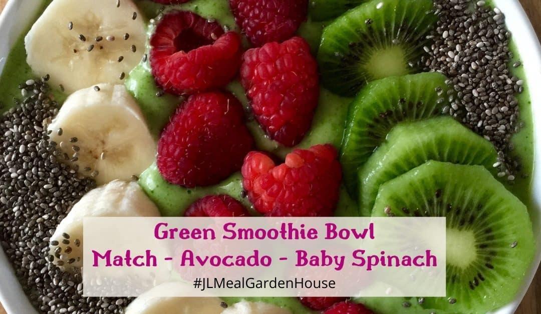 Green Smoothie – Matcha Avocado Spinach