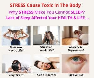 Stress cause toxic in the body