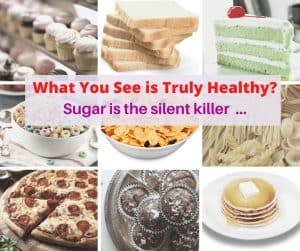 Sugar is the silent killer