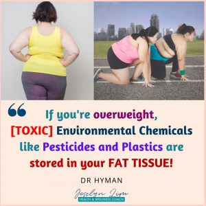 Toxic Stored in fat tissue