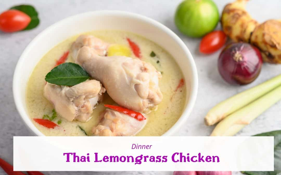 Thai Lemongrass Chicken (Daily Free)