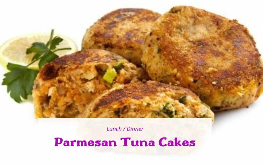 Parmesan Tuna Cakes