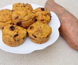Pumpkin and Sweet Potato Muffins