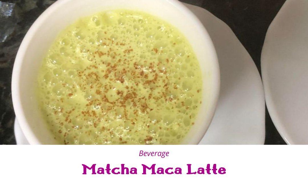 Matcha Maca Latte